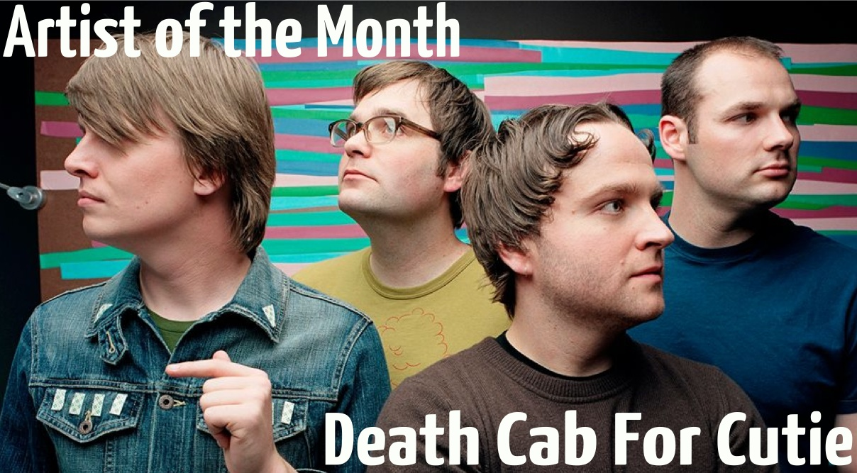 Artist of the Month -- Death Cab for Cutie