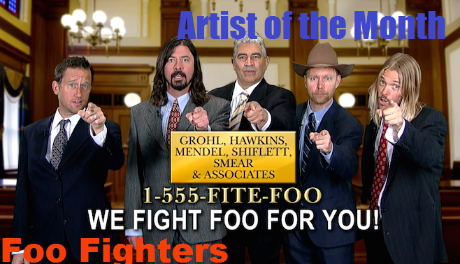 Artist of the Month -- Foo Fighters