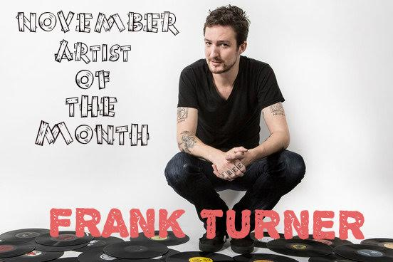 Artist of the Month -- Frank Turner