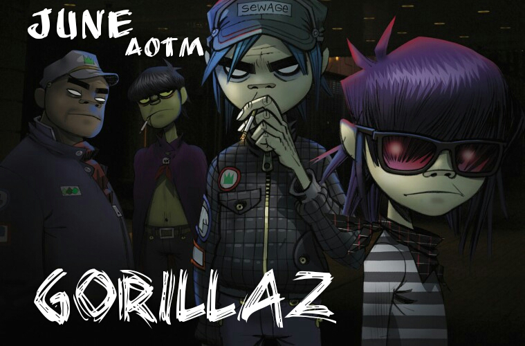 Artist of the Month -- GORILLAZ